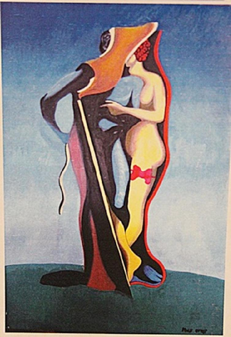 Max Ernst - The Lovers