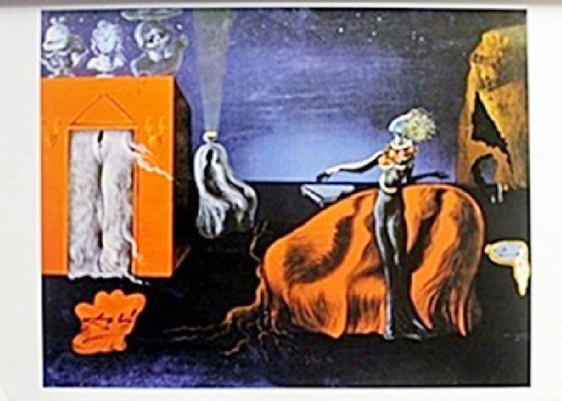 Lithograph   Salvador Dali