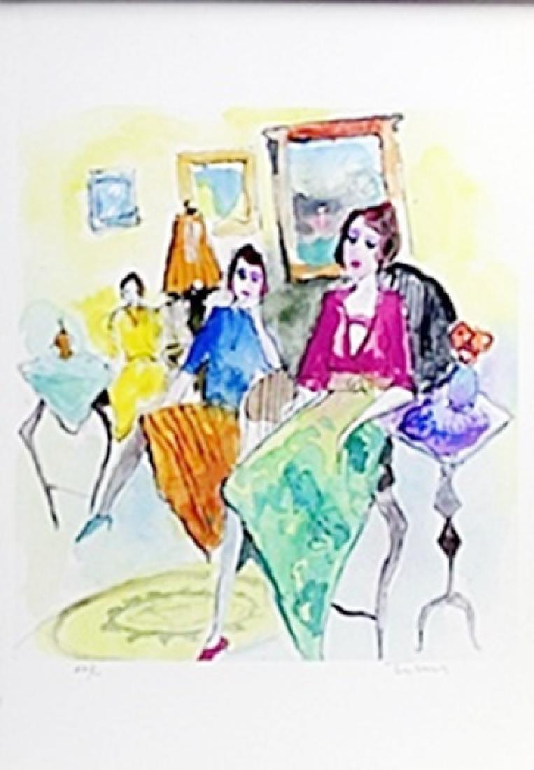 Lithograph   Itzchak Tarkay