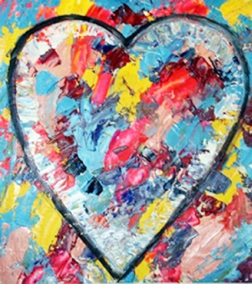 Jim Dine - My Heart