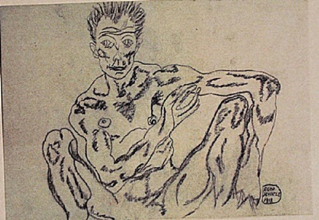 Egon Schiele - Untitled