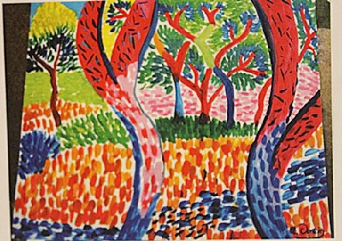 Andre Derain - The Forest