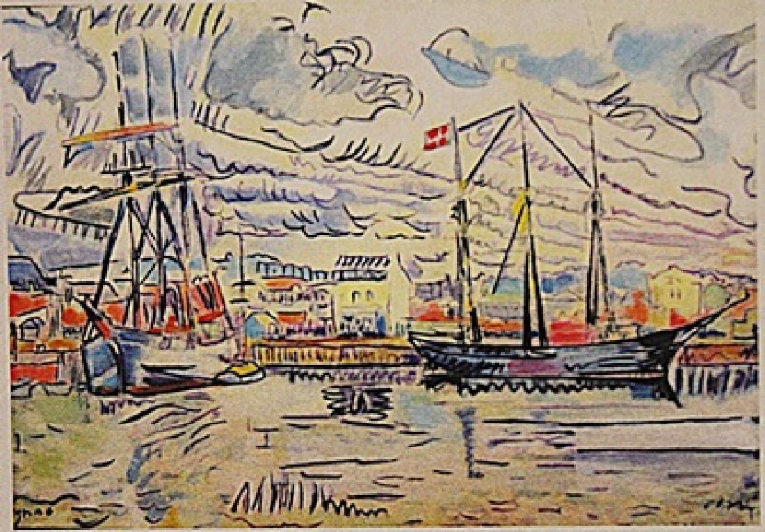 Paul Signac - Port Of Avignon