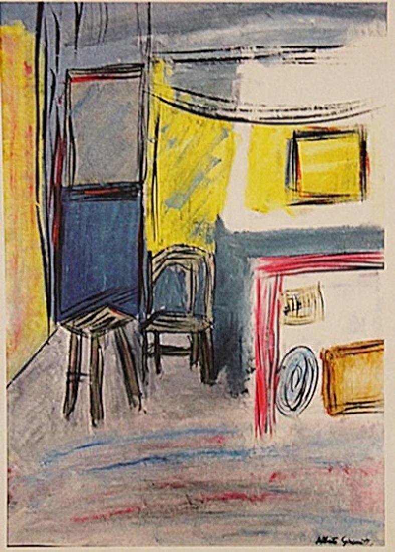 Alberto Giacometti - The Room