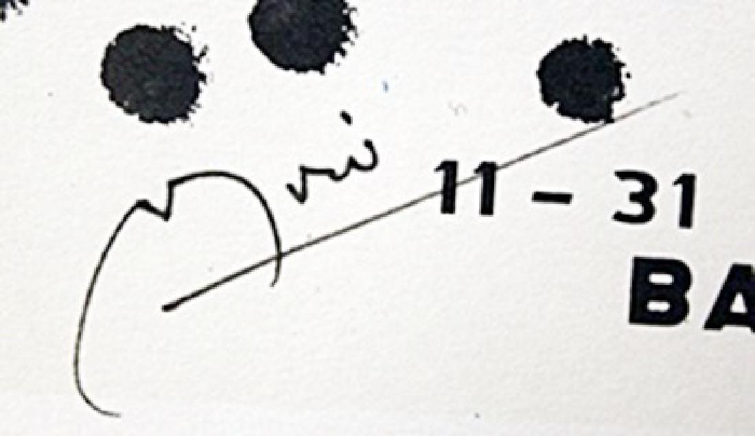 "Lithograph ""Barcelona""     Joan Miro - 2"