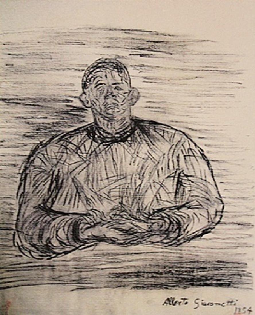 Alberto Giacometti - Portrait Of A Man