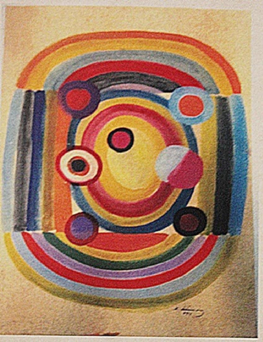 Robert Delaunay - The Rythme N 7