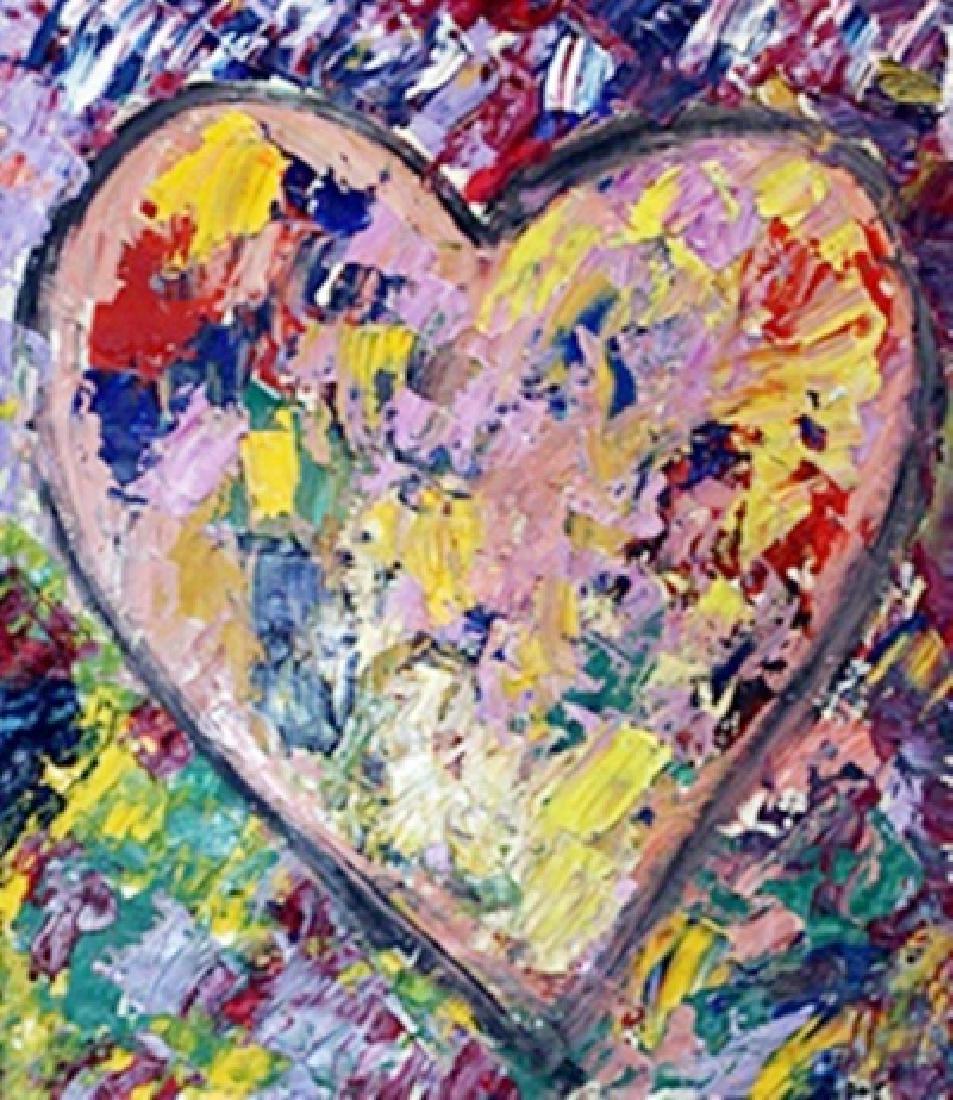 Jim Dine - My Heart II