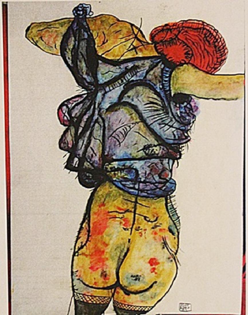 Egon Schiele - Woman