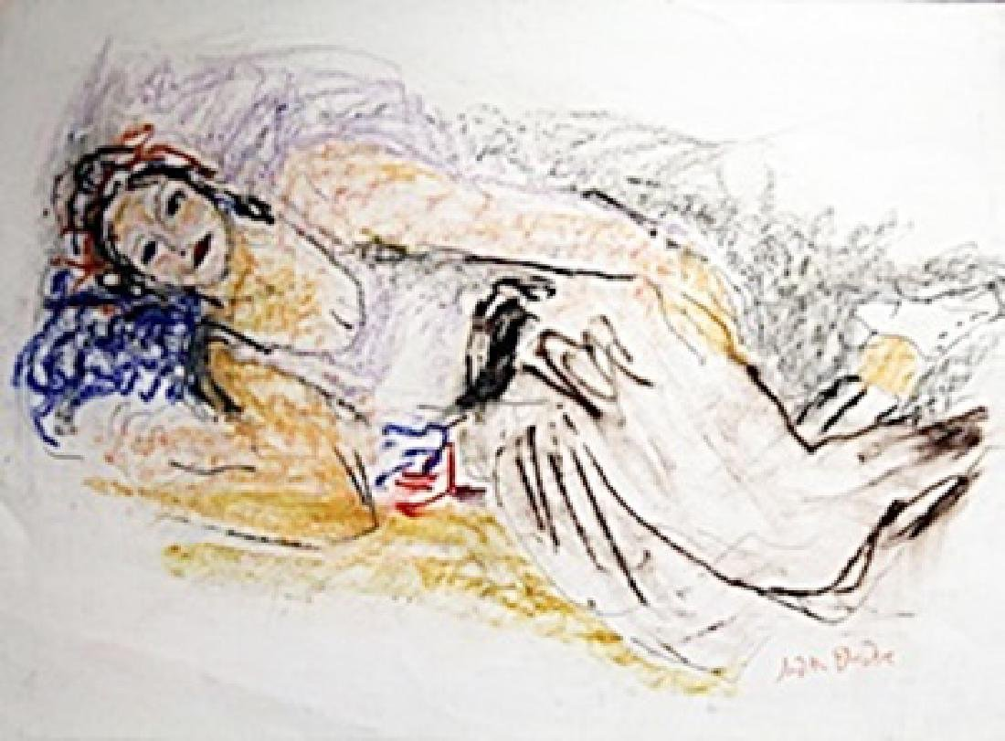 Carine, Almost Asleep -  Painting by Judith Bledsoe