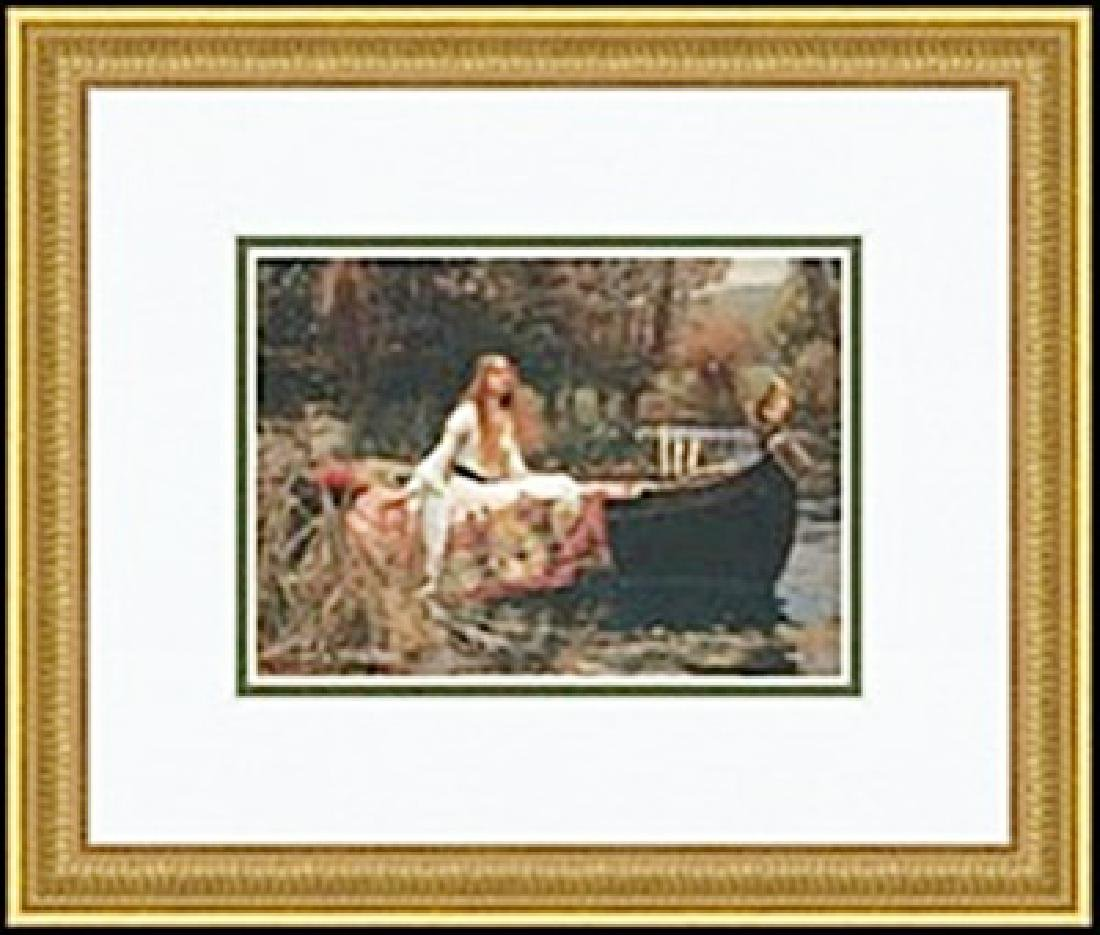 THE LADY OF SHALOTT, 1888     JOHN WILLIAM WATERHOUSE