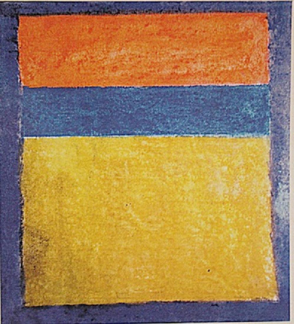 Mark Rothko - Orange,Yellow, And Blue