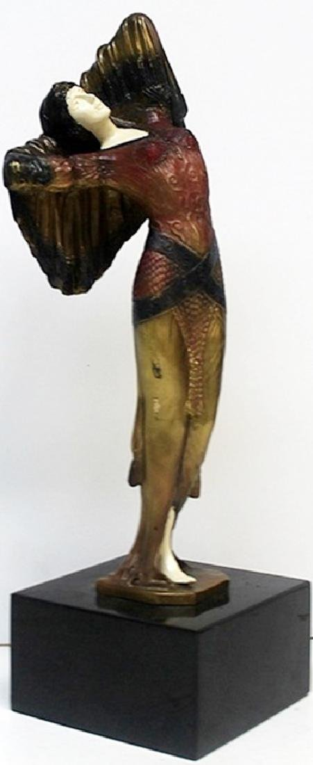 Bethany - Bronze  Sculp. - D.H Chiparus