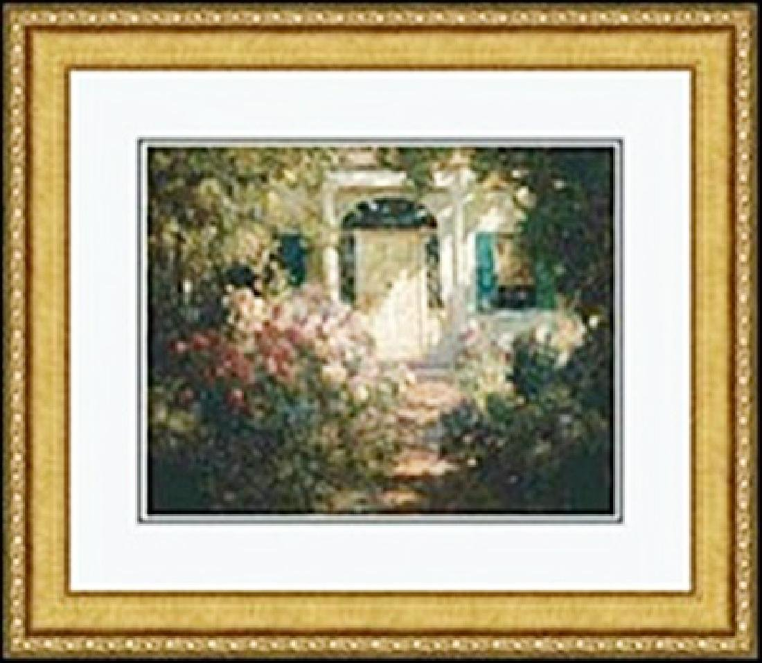 DOORWAY AND GARDEN     ABBOTT FULLER GRAVES