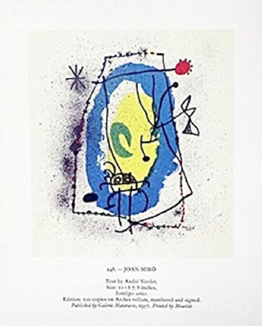 "Print ""Joan Miro""     Joan Miro"