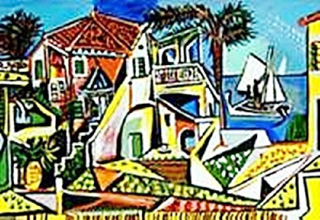 Mediterranean landscape-Collection Domaine Picasso