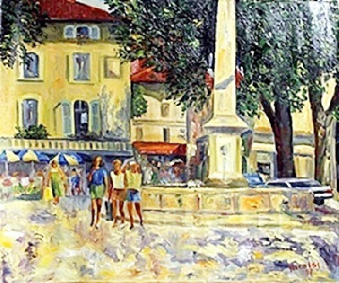 Acrylic on Canvas     Nicolas B.
