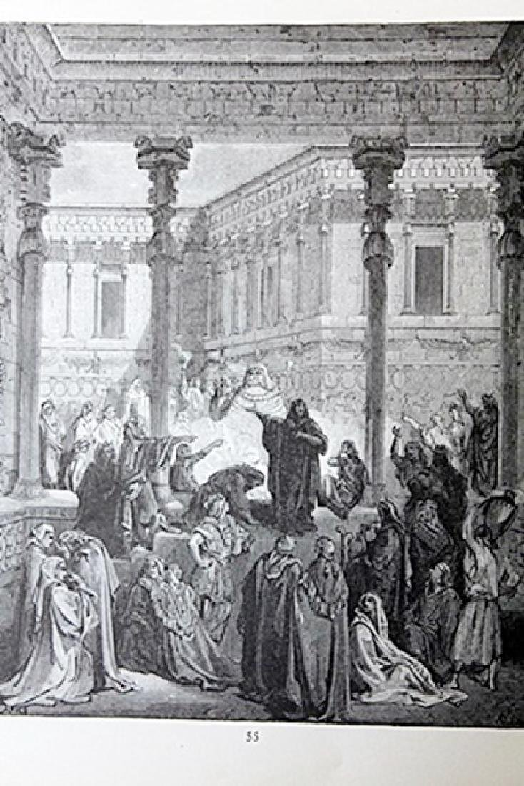 """The Dore Bible Gallery """"Daniel Confounding the priests"""