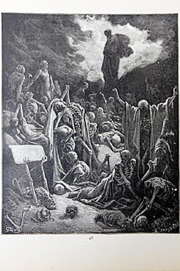 """The Dore Bible Gallery """"The Vision of Ezekiel"""""""