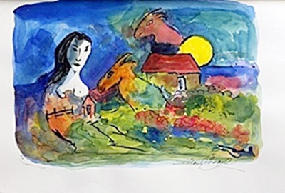 Les danseurs au hibou BY Pablo Picasso