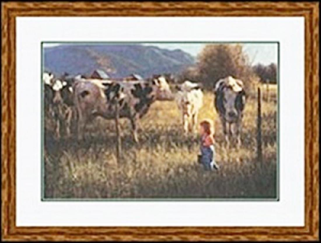ANNIKEN AND THE COWS     ROBERT DUNCAN