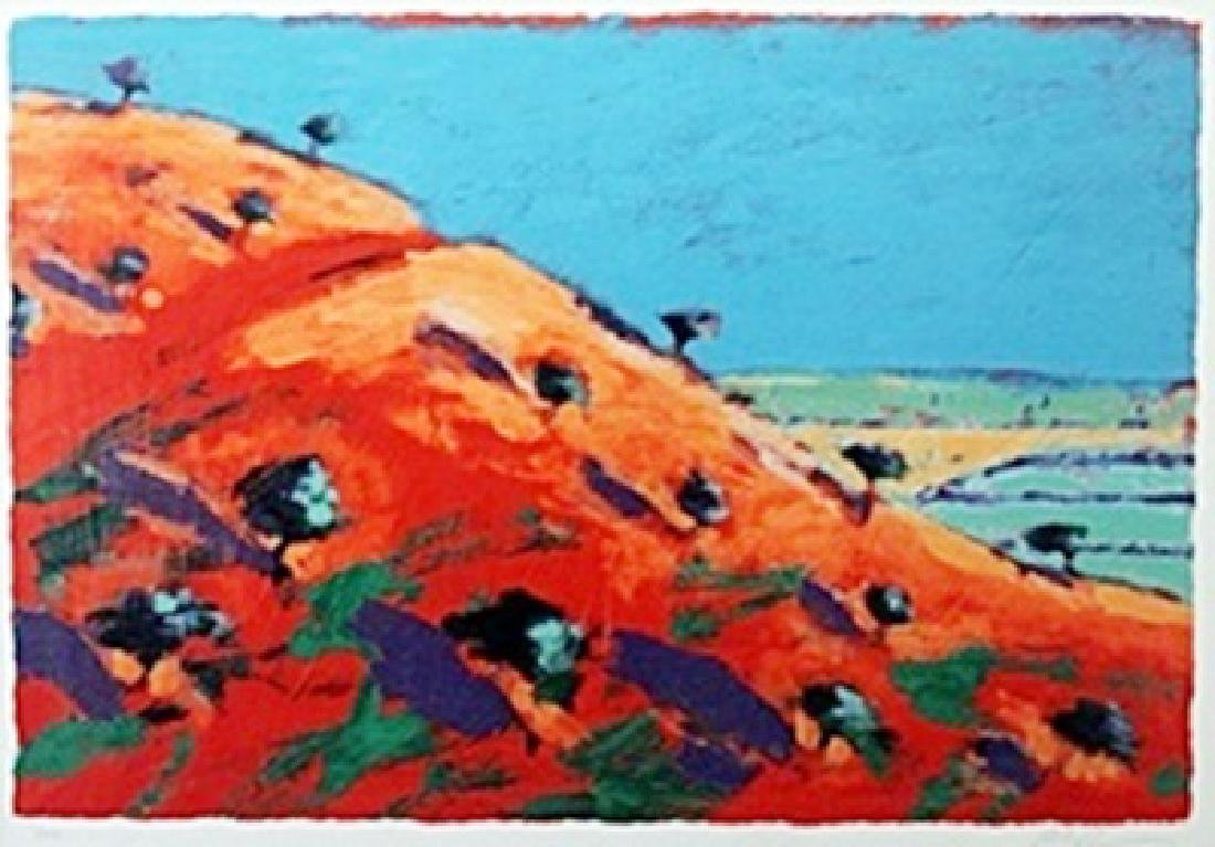 "Serigraph ""North Hill""  Paul Powis"