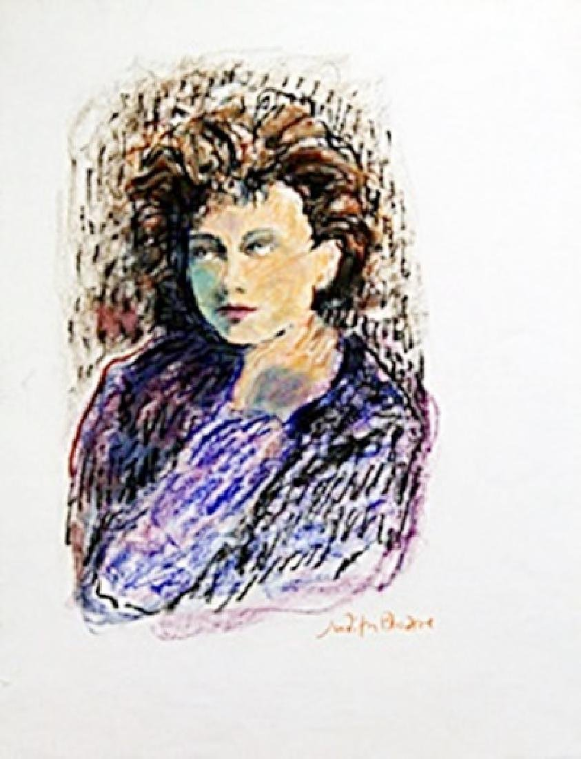 Troy 31 Arthur -  Painting on Paper by Judith Bledsoe