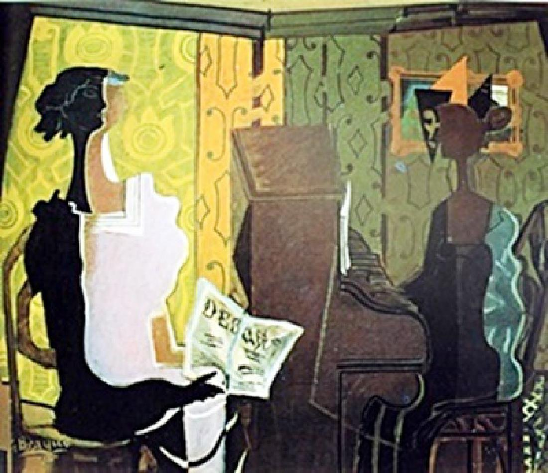 """Music Lesson""  Georges Braque"