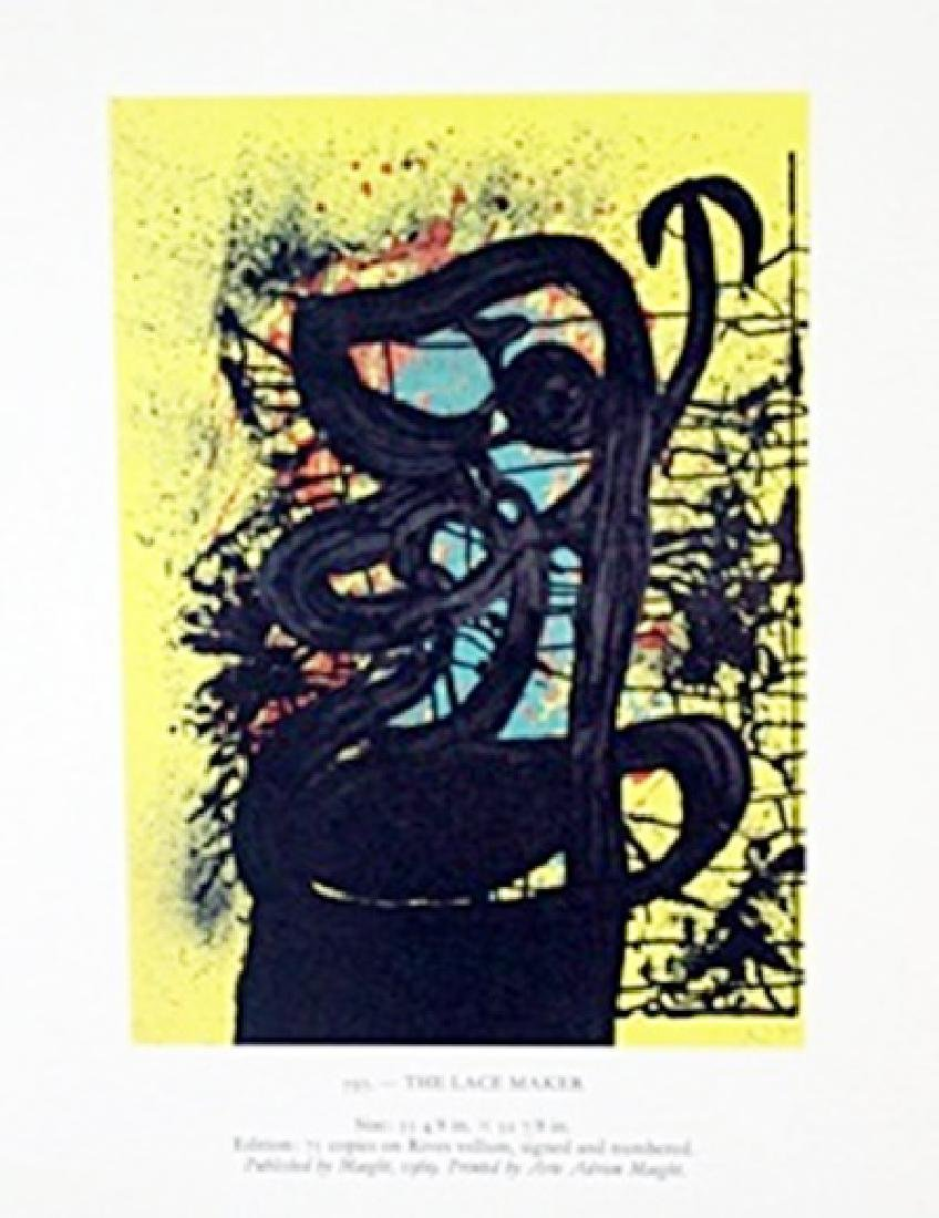 "Lithograph ""The Lace Maker""     Joan Miro"
