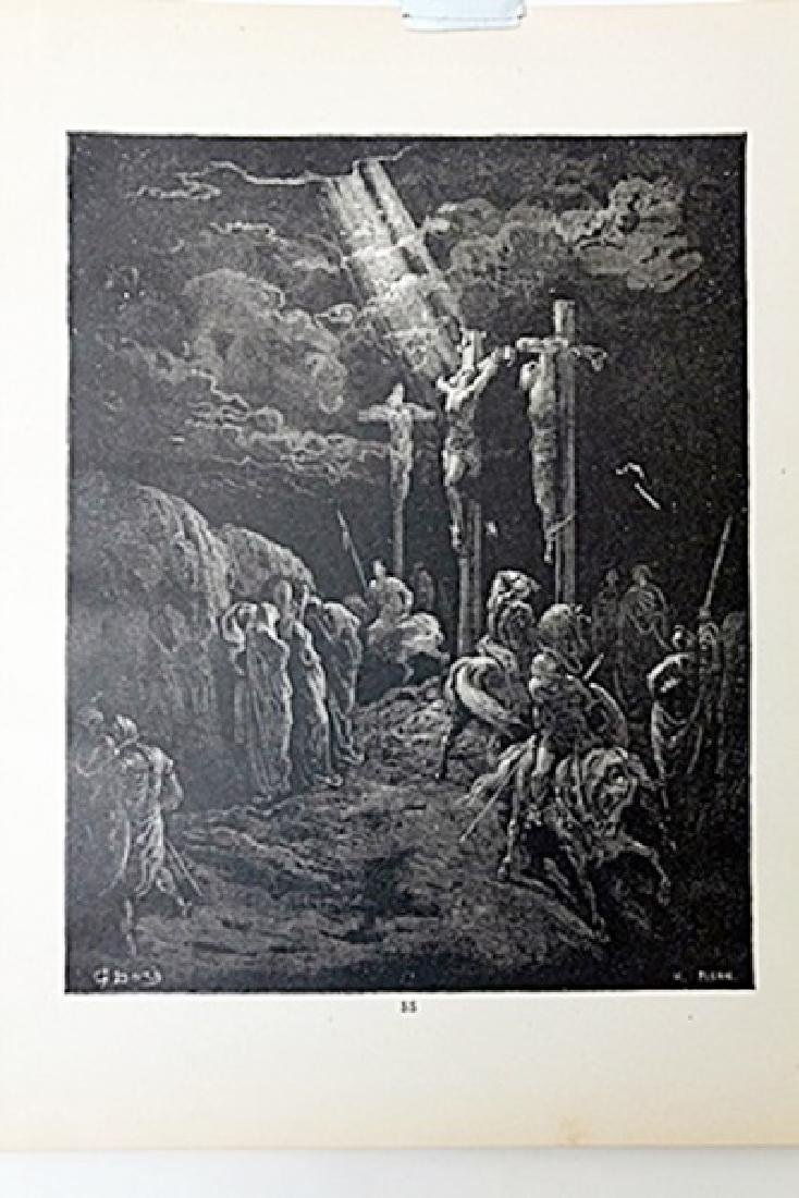 """The Dore Bible Gallery """"The Crucifixion"""""""