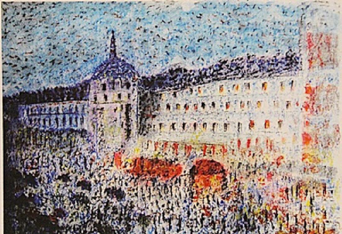 Paul Signac - Palace At Paris