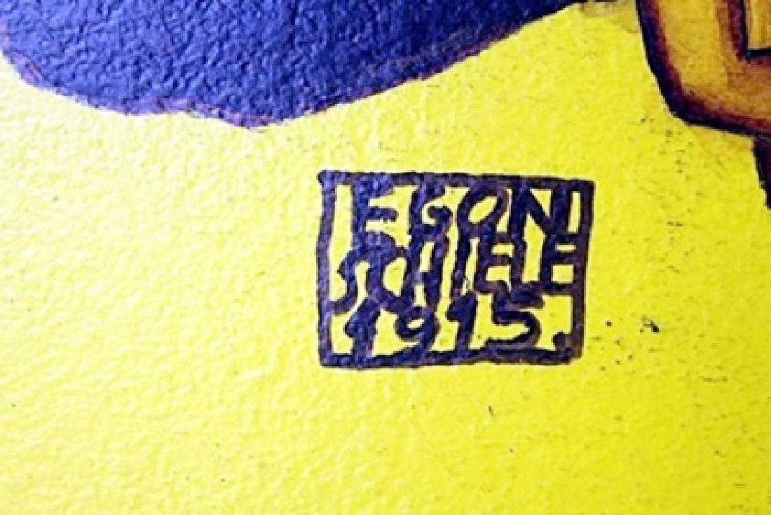 Oil on Canvas Egon Schiele - 2