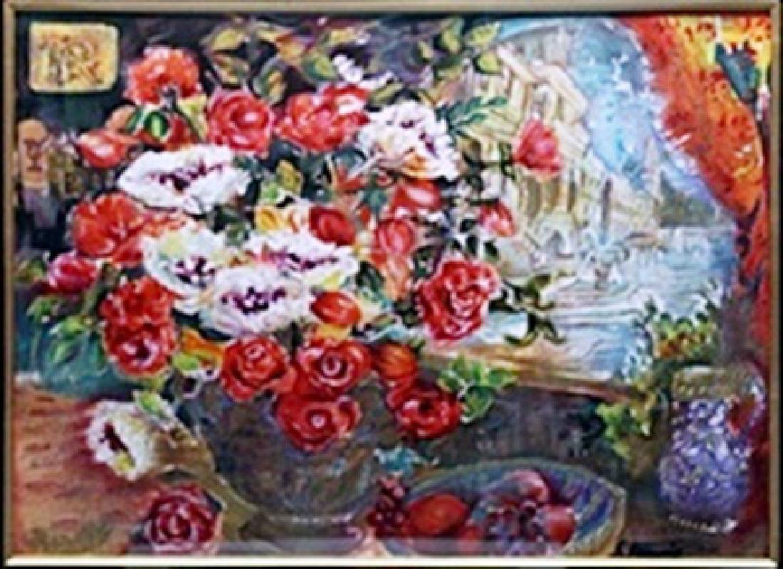 """Serigraph """"A View of the Past""""  Francis"""