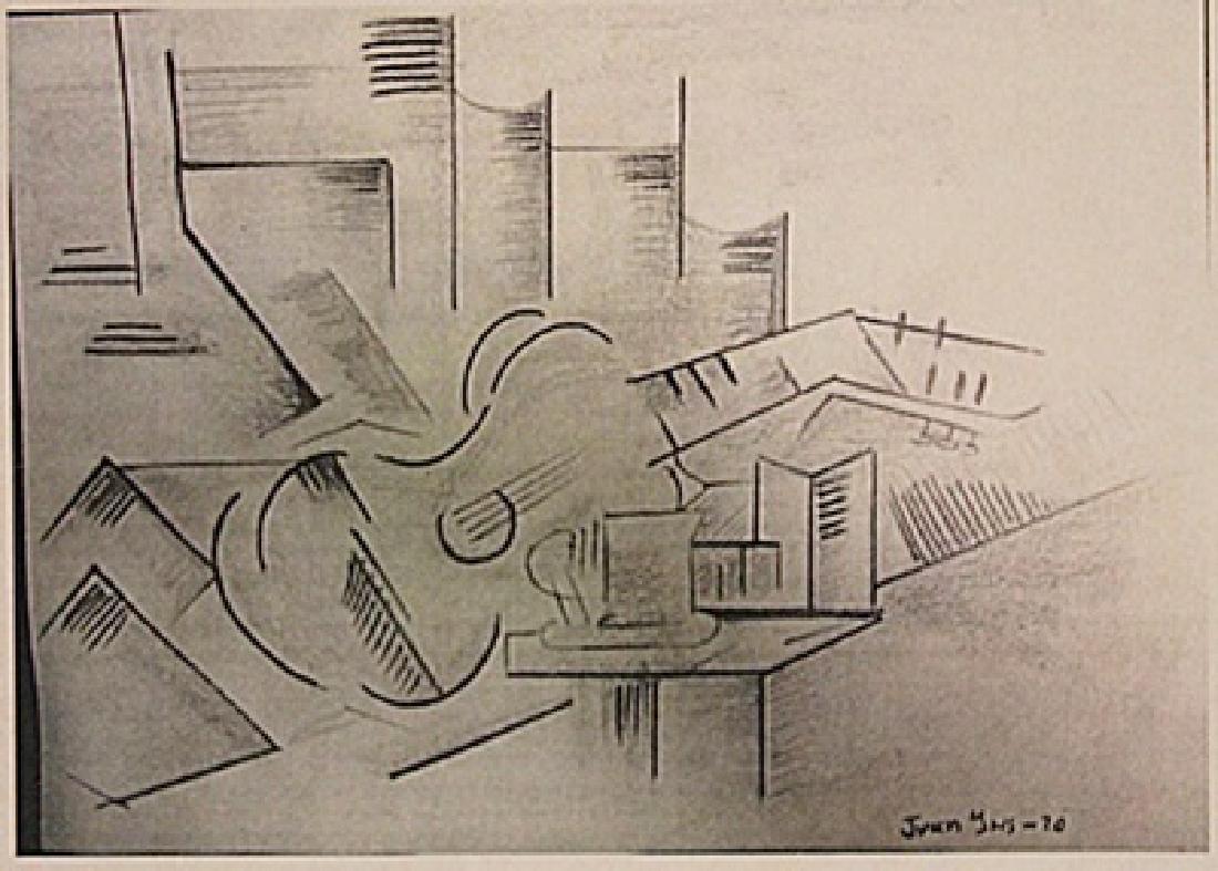 Juan Gris -The Guitar
