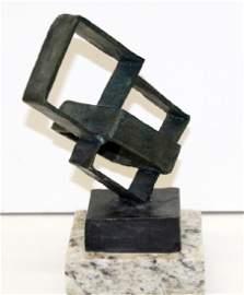 Signed Bronze Sculpture 92ZZ