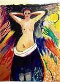 Edvard Munch - Oil On Paper