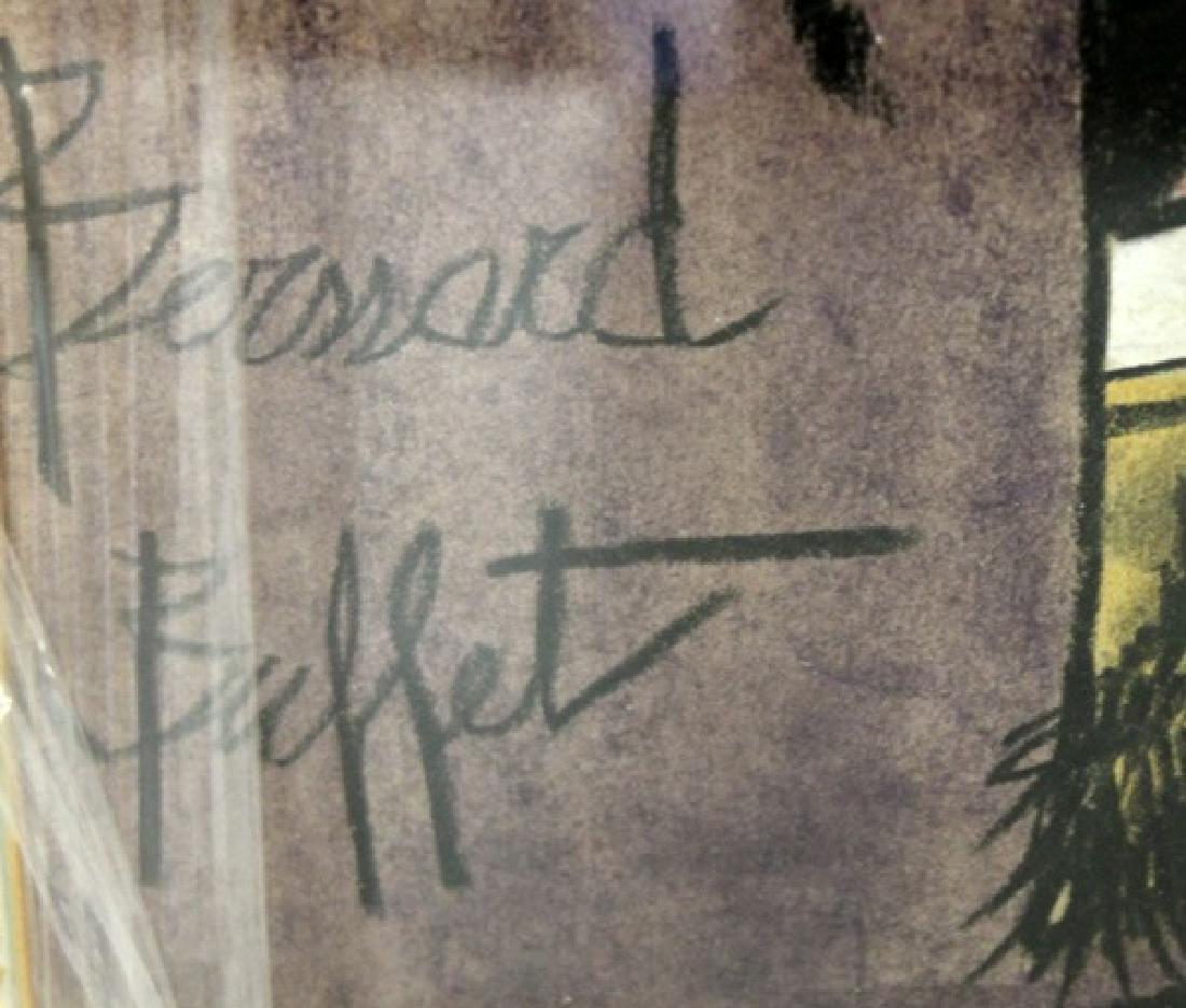 In they style of Bernard Buffet - Self Portrait - - 3
