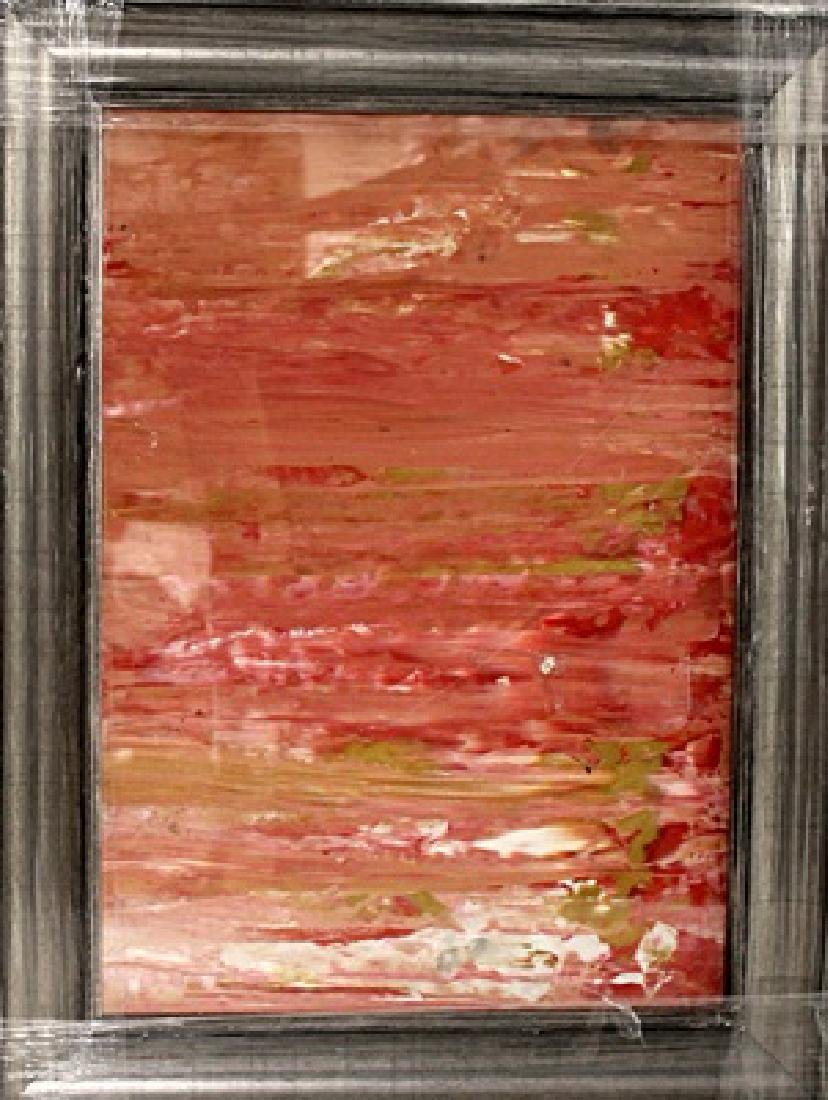 In they style of Gerhard Richer - Pink 54 - Oil on
