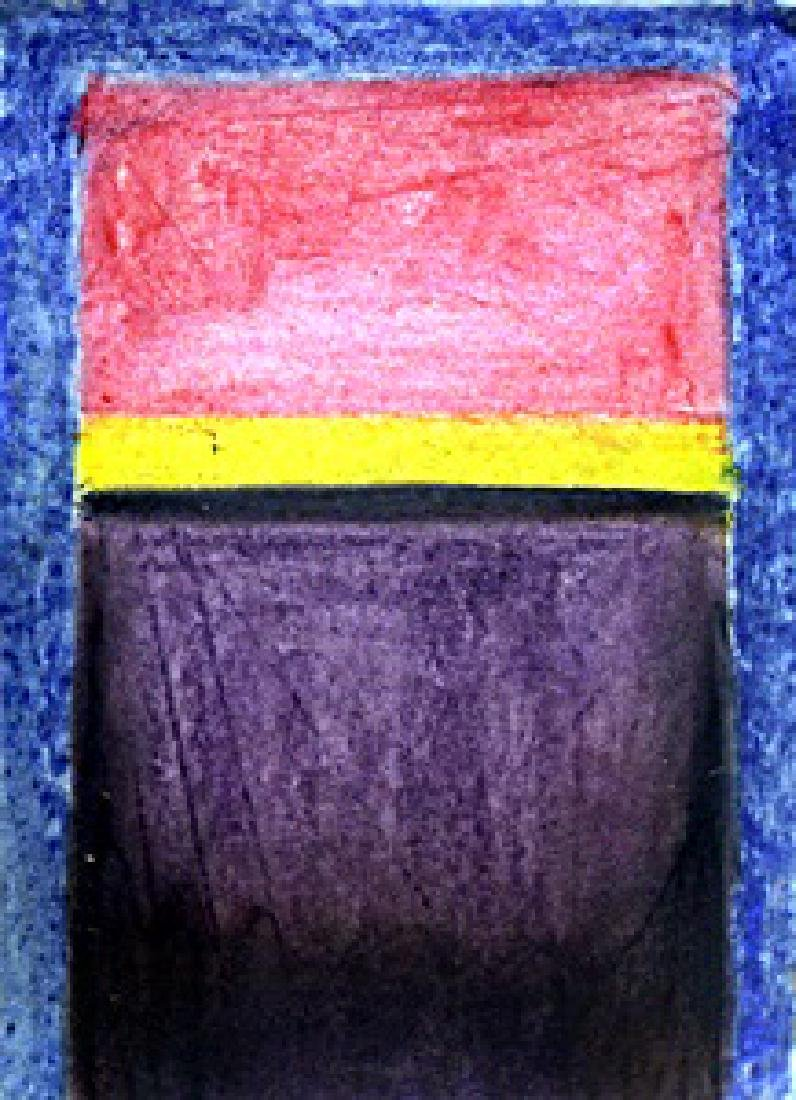 Blue, Red, Yellow In they style of  Mark Rothko