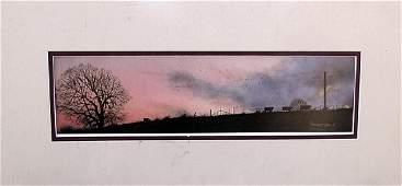 Beautiful Sky - Lithograph