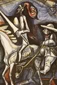Don Quixote - Lithograph - Irving Amen