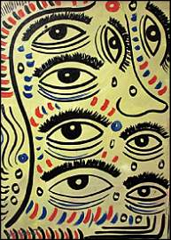 Eyes - William Verdult In the style of Oil On Canvas