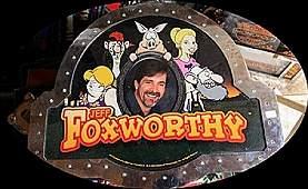 "Vintage ""Jeff Foxworthy"" Casino Slots Topper. (N)"