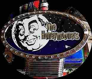 Vintage The Honeymooners Casino Slots Topper N