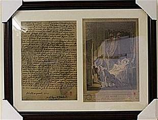 Framed 2in1 Engravings 93EEK