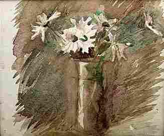 Cut Flowers - Lithograph