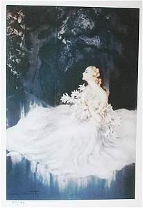 Louis Icart - Lilies