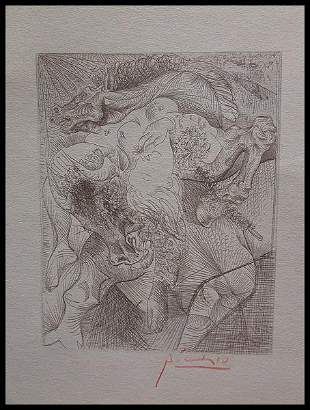 Pablo Picasso Mujer Torero II