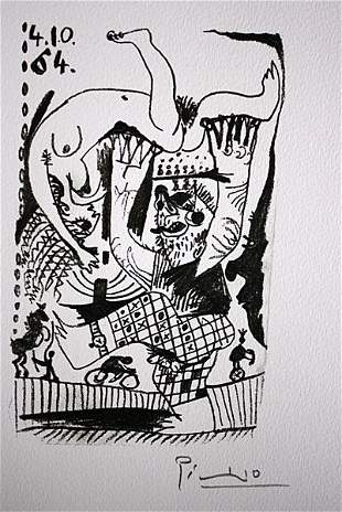 Pablo Picasso Le Gout du Bonheur 41064