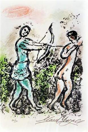 Marc Chagall Untitled